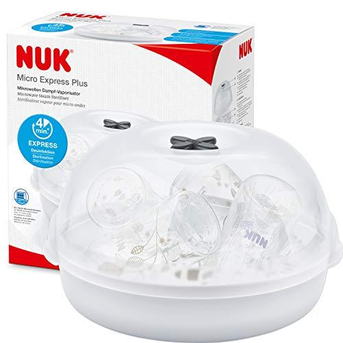 NUK Micro Express Plus Microwave Steam Baby Bottle Steriliser £4.99 Prime / £9.48 nonPrime @ amazon