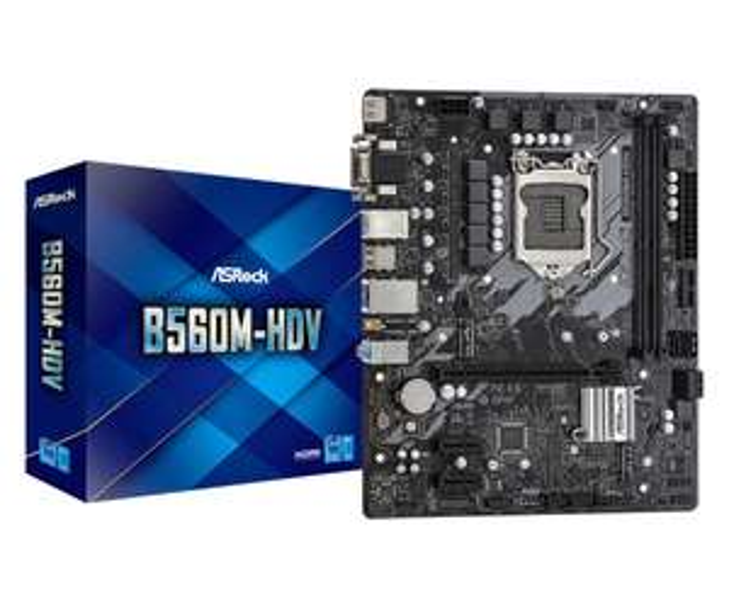 ASRock Intel B560M-HDV mATX Motherboard £78.98 delivered at Scan