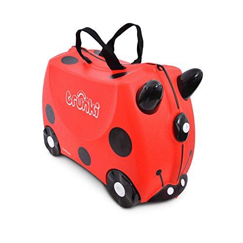 Trunki Children's Ride-On Suitcase & Hand Luggage: Harley Ladybug (Red) - £19 prime /+£4.49 non prime @ Amazon
