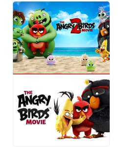 The Angry Birds 1 & 2 Movie Collection £5.99 @ iTunes Store