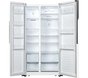 Logik American-Style Fridge Freezer (White or silver) £404.99 With Code at Currys PC World