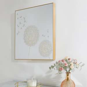 Arthouse Dandelion Mirror with Foil - £39.99 + £3.49 Delivery UK Mainland / £4.99 Northern Ireland @ Home Bargains
