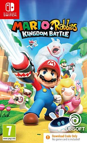 Mario + Rabbids Kingdom Battle (Code in Box) Nintendo Switch £13.60 prime / £16.59 nonPrime at Amazon