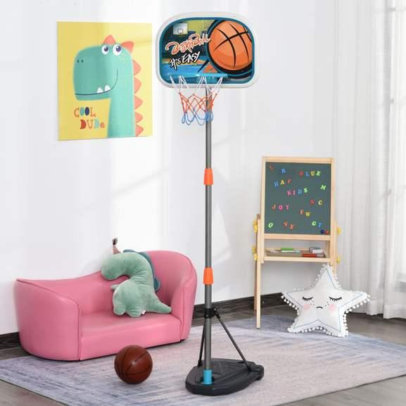 Kids Basketball Set with Hoop Ball, Pump and Fillable Base £22.09 delivered, using code, @ eBay / 2011homcom