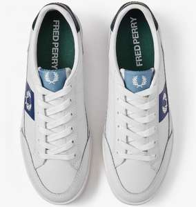Fred Perry Deuce Leather Trainers £21 & Free Delivery @ Fred Perry