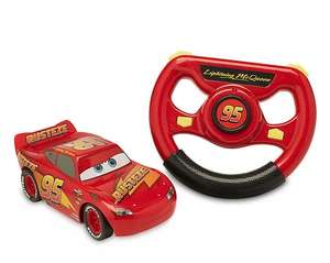 Disney Lightning McQueen 6-inch battery-powered Remote Control Car for £13.50 delivered using code @ shopDisney