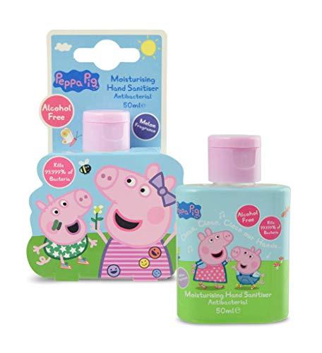 Peppa Pig Hand Sanitiser 50ml - Alcohol free & melon fragrance 79p / £5.28 Non-Prime @ Amazon