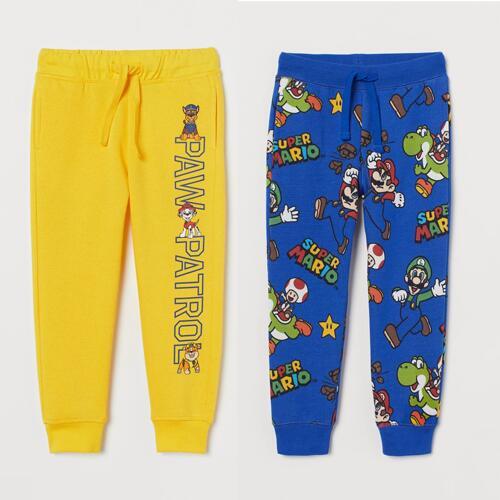 Printed sweatpants Super Mario / Paw Patrol £7 each Delivered (Member Price - Free Signup) @ H&M