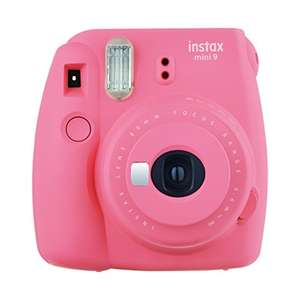 Instax Mini 9 Camera with 10 shots in pink £43.30 at Amazon