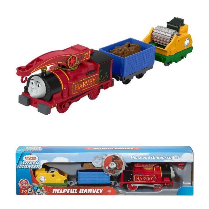 Thomas & Friends Trackmaster Motorised Helpful Harvey - £10.99 Delivered (UK Mainland) @ BargainMax