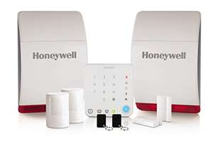 Honeywell Home HS342S Wireless Home and Garden Alarm with Intelligent Control £125.20 delivered at Amazon