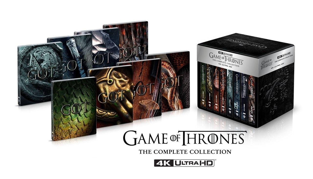 Game of thrones 4k Steelbook £199.99 at HMV using code
