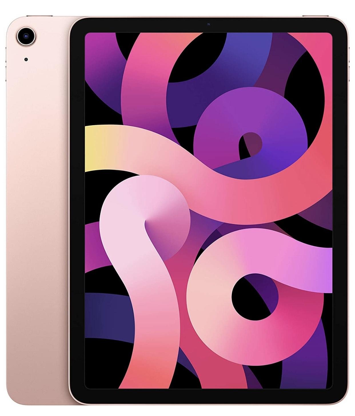 New Apple iPad Air (10.9-inch, Wi-Fi, 256GB) - Rose Gold (Latest Model, 4th Generation) @ Amazon