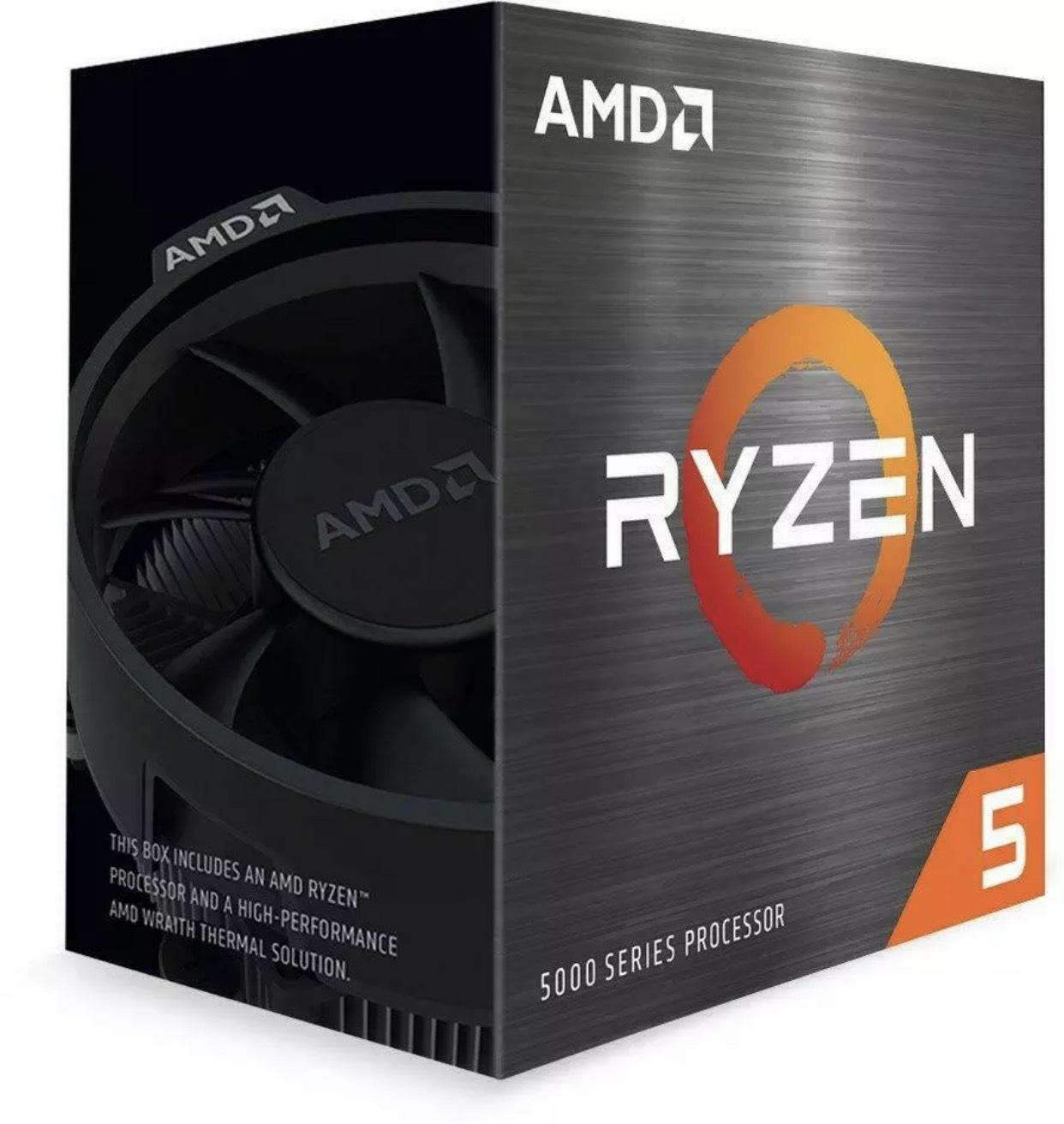 AMD Ryzen 5 5600X 3.7GHz/4.6GHz 6 Core (Socket AM4) CPU Processor £271.99 at tabretail ebay