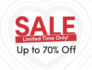 Up To 70% off Sale - Delivery £3.99 / Free Over £40 at Lovehoney