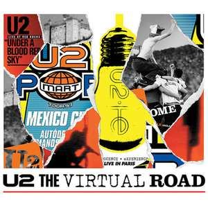 U2 Streaming Full 4 Concerts between 17th March and 10th April - via YouTube