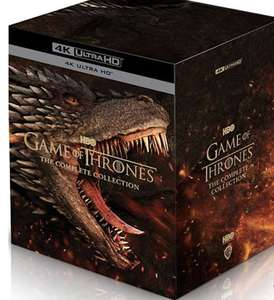 Game of Thrones: The Complete Collection (Seasons 1-8) 4K Ultra HD Blu Ray Box Set - £159.99 with code (+£1.99 Delivery) @ Zavvi