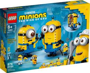 LEGO Minions 75551 Brick-Built Minions & Their Lair - £39.99 delivered @ Smyths