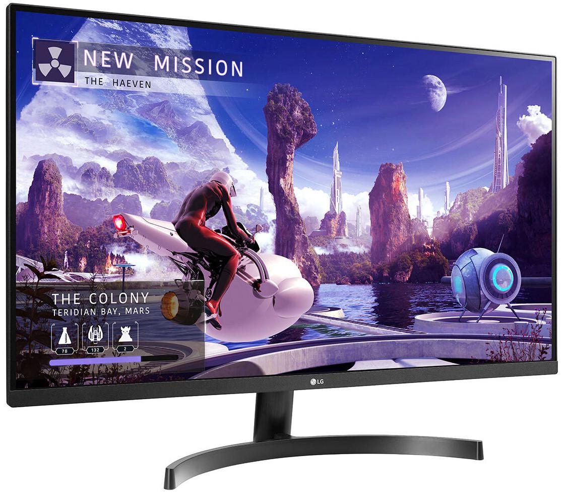 LG 32QN600-B, 31.5 Inch QHD (2560x1440) HDR10, 75Hz AMD FreeSync IPS Dual HDMI Monitor - £239.89 delivered @ Costco