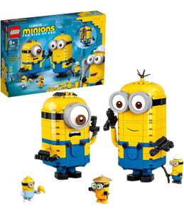 LEGO Minions75551 Brick-Built Minions and Their Lair Display Models with Stuart, Kevin & Bob Figures £39.99 at Amazon