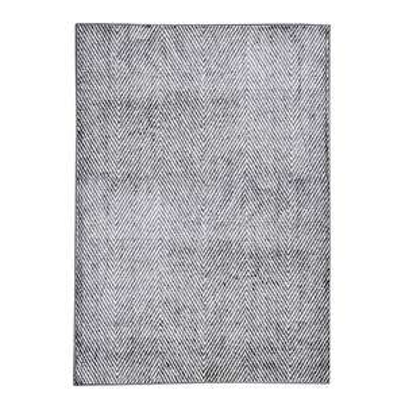 Printed Nylon Chevron Rug - Grey, Navy or Claret - £21.45 each (Delivered) @ Dunelm