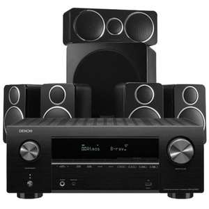 Denon AVR-X2700H w/Wharfedale DX-2 Speaker Package +speaker/sub cable £879 @ Exceptional Audio Visual