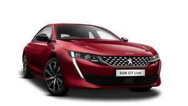 Peugeot 508 GT Line manual 1+35 Lease initial rental £278.37, £278.37 x 35 10k Mileage £10,008 @ Pentagon motor group