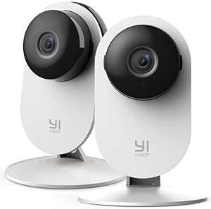 YI 2pc 1080P Home Camera Indoor Security IP Camera - £34.39 Sold by Seeverything UK and Fulfilled by Amazon