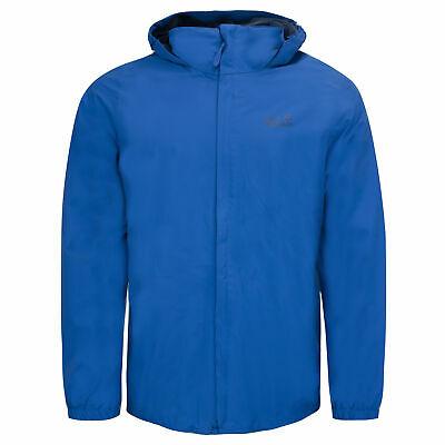 Jack Wolfskin Stormy Point Jacket Zip Up Hooded Coat in Blue or Khaki (Size Medium) £33.99 Delivered (With Code) @ elitesuperstores / eBay