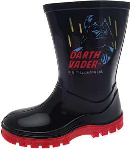 Star Wars Boys Darth Vader Storm Trooper Wellington Boots Size Infant UK 7 - £3.99 + £3.99 delivery at Amazon sold by Foster Footwear