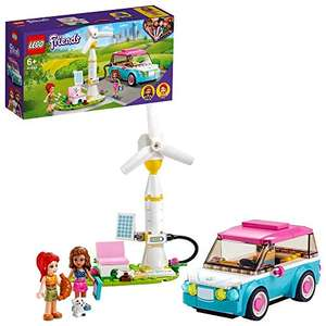 LEGO Friends 41443 Olivia's Electric Car £10.40 (Prime) + £4.49 (non Prime) at Amazon