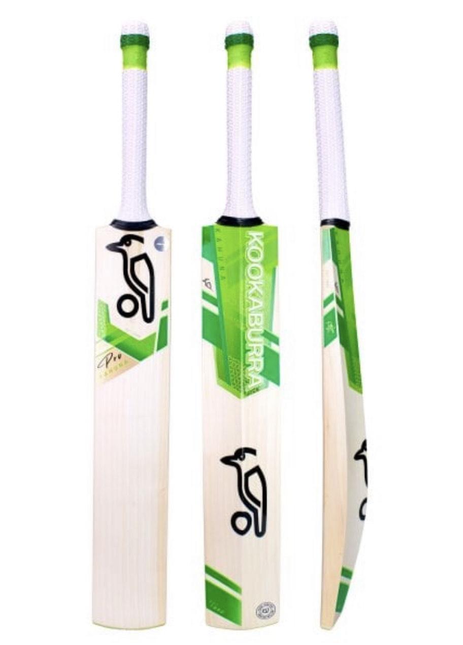 "Grade 1+ English Willow Kookaburra Kahuna Pro / For Small Adult Height 5'6"" - 5'8"" £204.99 @ It's just cricket"