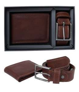 Redhook Faux Leather Belt and Wallet Gift Set in Tan £11.24 + £1.99 delivery Tokyo Laundry