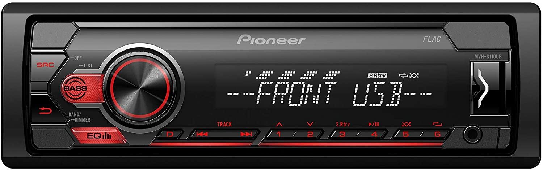 Pioneer Car Multimedia MVH-S110UB Auto USB Radio - £35 delivered at Amazon