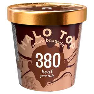 Halo Top Ice Cream 473ml pots - £3.50 each instore and online @ Co-operative