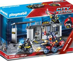 Playmobil 70338 City Action Take Along Police Station with Bikes and Helicopter - £25.96 @ Amazon EU (Mainland UK)