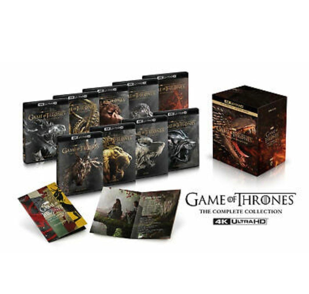 Game of thrones 4k boxset season 1-8 - £159.99 @ eBay / theentertainmentstore