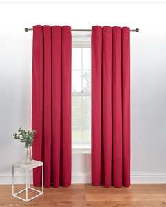 Eyelet Curtains - Red - Limited Sizes - £7.50 + Delivery - £10.45 @ George (Asda)