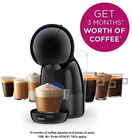 Nescafé Dolce Gusto Piccolo XS Manual Coffee Machine, Espresso, Cappuccino & More, Black / White by KRUPS - £37.99 @ Amazom