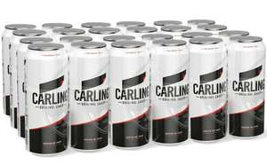 Carling Lager 24 x 440 ml Cans £16 Prime / £20.49 nonPrime @ Amazon, 1-2 Month wait time