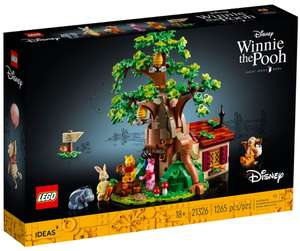LEGO Ideas 21326 Winnie The Pooh with VIP Early Access + 2 Free Gifts £89.99 at Lego Shop