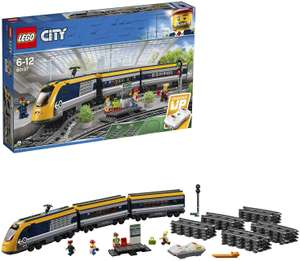 Lego City Trains 60197 Passenger Train Set, Battery Powered Engine, RC Bluetooth Connection, Tracks and Accessories £84 Amazon
