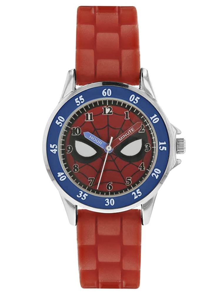 Marvel Disney Spiderman Boys Analogue Quartz Watch with Rubber Strap - £10.50 (Prime) + £4.49 (non Prime) at Amazon