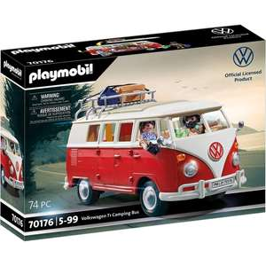Playmobil 70176 Volkswagen T1 Camping Bus £37.49 delivered at Playmobil Shop