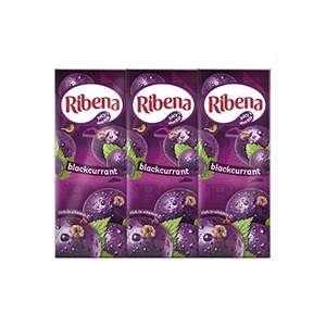 Ribena Blackcurrant Cartons - 24 Carton x 250ml - £6 (Prime) + £4.49 (non Prime) at Amazon