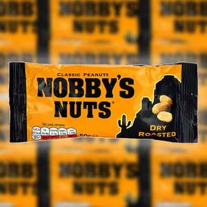 24 x Nobby's Nuts Classic Dry Roasted Peanuts 50g Packs - £5 delivered BBE 03/04/21 @ Yankee Bundles