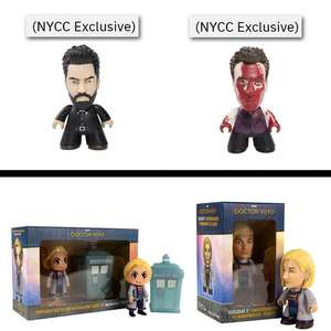 Titans Vinyl Figures From £1.99 - EG Jesse or Cassidy - £1.99 / Doctor Who 2 Pack: Kawaii & Materialising Tardis £3.99 @ Forbidden Planet
