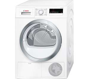 BOSCH Serie 4 WTN85280GB Condenser Tumble Dryer - White for £386.99 delivered (using code) @ Currys