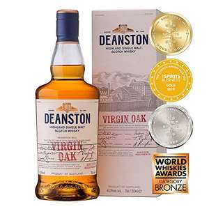 Deanston Virgin Oak Single Malt Scotch Whisky 70cl - £29.25 on Amazon