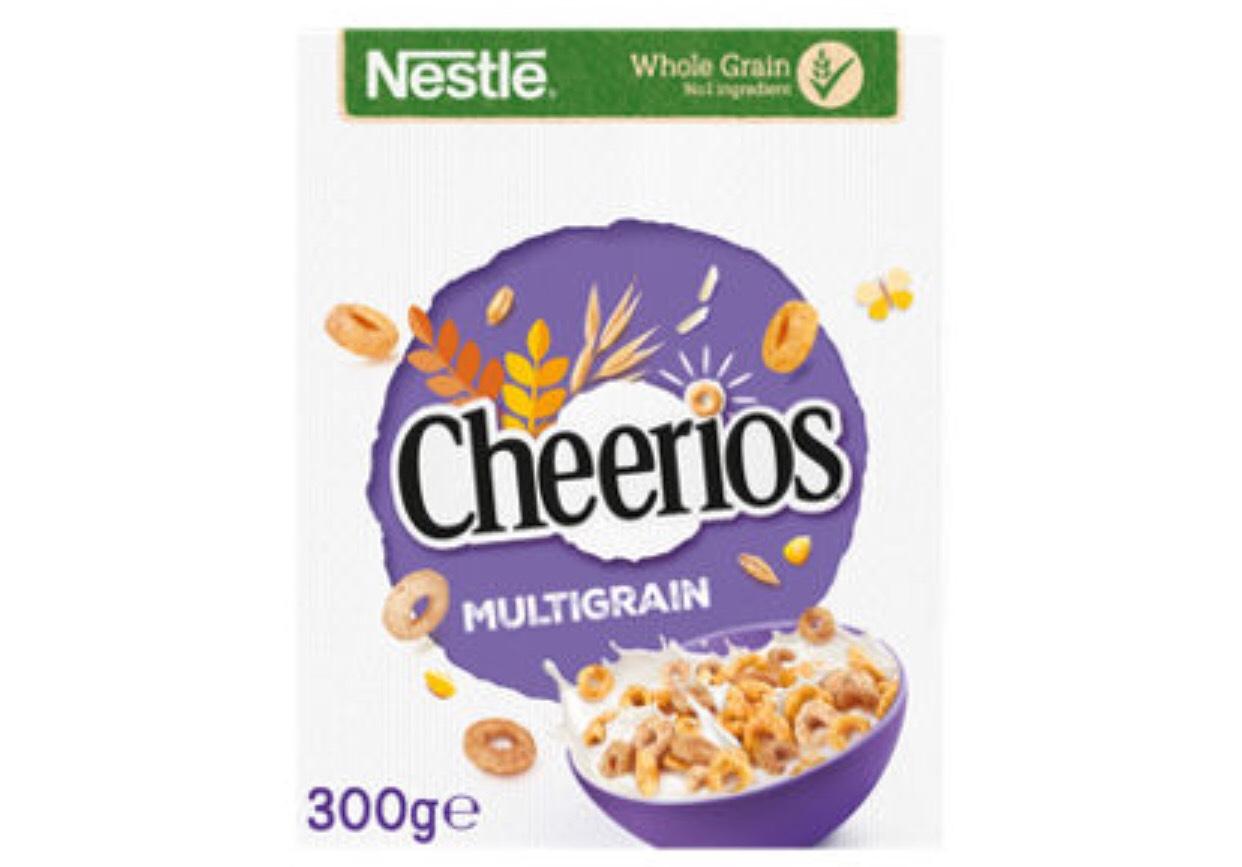 Nestle Cheerios Multigrain 300G £1 (+ Delivery Charges / Minimum Basket Applies) @ Asda